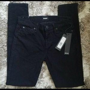 Hudson Nico Midrise Corduroy Super Skinny Jeans